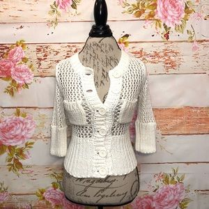 Free People Button Front Cardigan